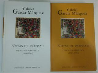 Gabriel García Márquez ( Notas de Prensa I y II )