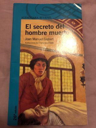 Libro de lectura EL SECRETO DEL HOMBRE MUERTO