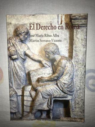 El Derecho en Roma. Ed. Combates Historia