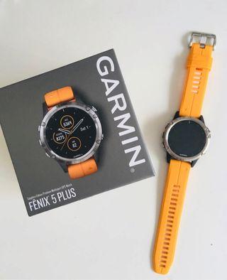 Garmin Fenix 5 Plus zafiro