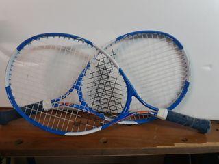 Pack 2 raquetas Tennis infantil