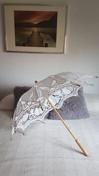 Paraguas-sombrilla de novia o comunión