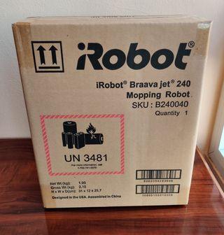 Robot friegasuelos iRobot Braava Jet 240