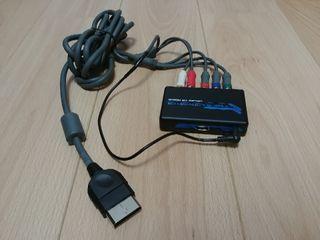 Cable componentes y hdmi xbox clásica