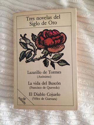 "Libro ""Tres novelas del Siglo de Oro"""
