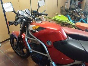Moto Honda 450 F