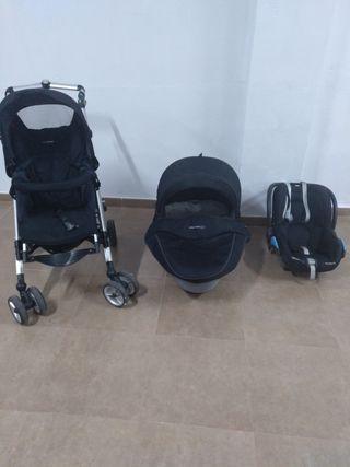 Carro bebé 3 piezas loola