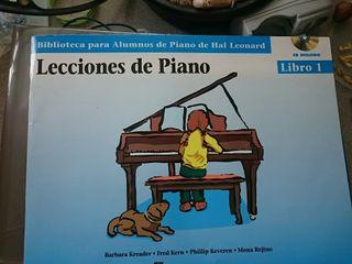 Lecciones de Piano 1 + CD