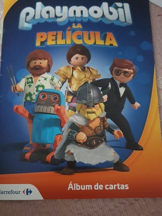 álbum completo Playmobil