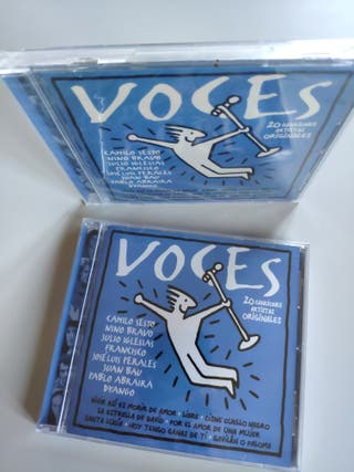 CD VOCES, CAMILO SESTO, NINO BRAVO, JULIO IGLESIAS