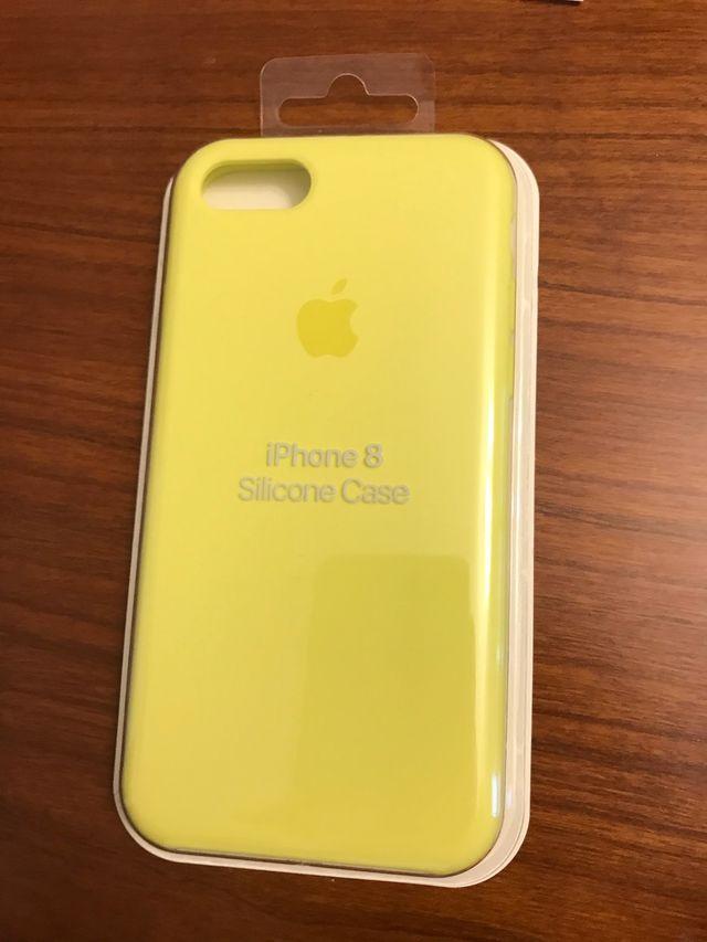 Funda silicona apple iPhone 7 y 8