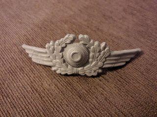 Insignia de la Luftwaffe para gorra de plato