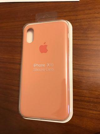 Funda de silicona apple iPhone X y Xs
