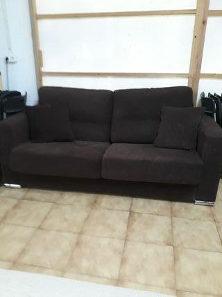 Sofa cama y sofa rinconera con funda