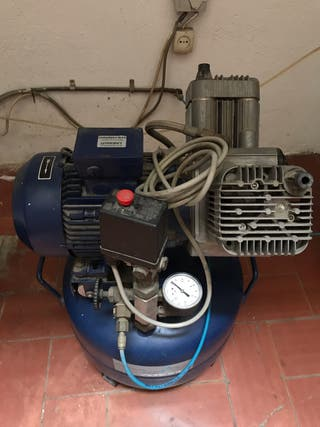 Compresor DURR (Aleman) aire seco modelo D-7120