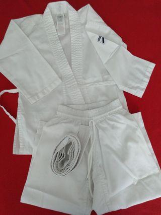 Traje taekwondo infantil