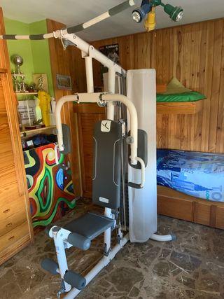 Máquina gimnasio multiestación de musculación