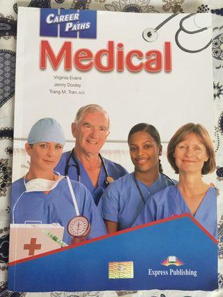 """Libro de Inglés """"Medical"""""""