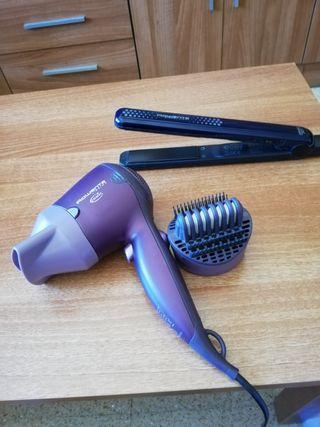 secador y plancha pelo