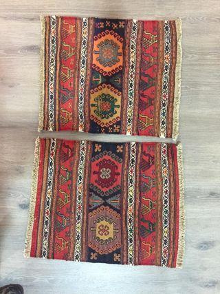 Kilim tapiz bordado pequeño. Persa
