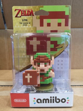 amiibo Link The Legend of Zelda 8bit