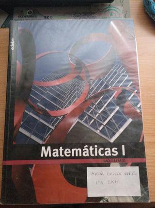 libro de Matemáticas 1° de Bachillerato
