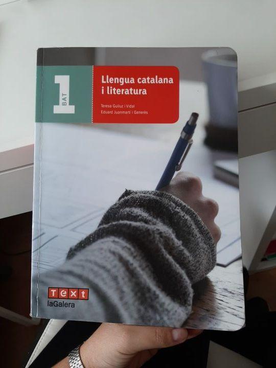 Libro Lenga catalana y literatura 1 bachillerato