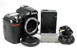 Cámara Nikon D80, un tanque, ideal para aprender!