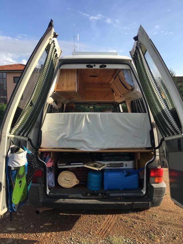 Furgoneta Volkswagen Transporter T4 camper alta