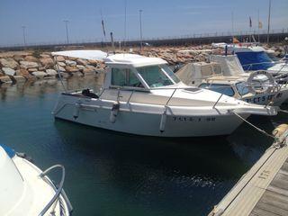 Barco embarcación diésel eje garin 6,40
