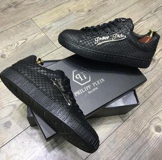 Zapatillas estilo cocodrilo Philpp Plein