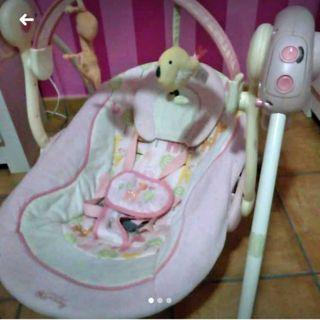 Columpio bebé 5 velocidades desde 0 meses
