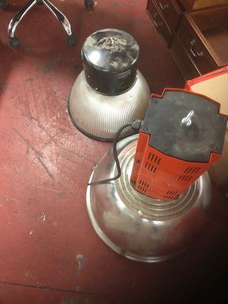 Focos industriales o lamparas modificadas