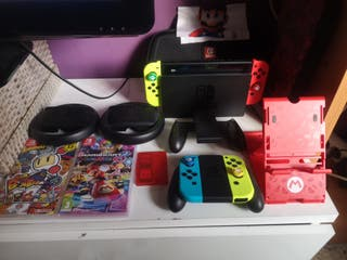 Nintendo Switch + Complementos