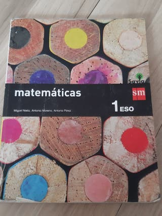 LIBRO DE MATEMATICAS 1 DE LA ESO