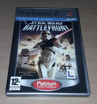 "Juego ""Star Wars: Battlefront"" PlayStation 2"