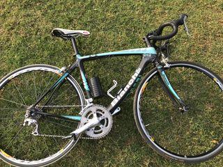 Bicicleta Bianchi de carbono talla S