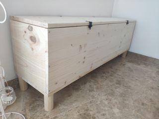 Banco asiento y almacenaje NUEVO