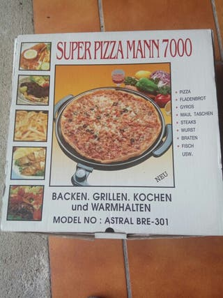 Sin estrenar! super pizza mann7000