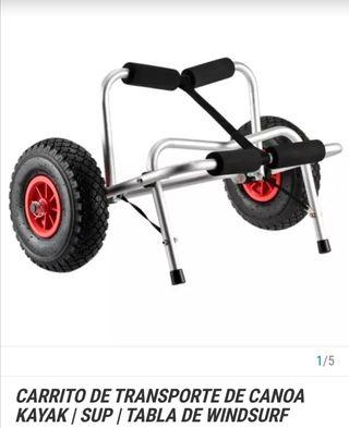 Carro transporte kayak