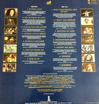 Disco antiguo vinilo Bob Marley and the Wailers