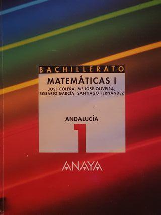 libro 1 bachillerato matemáticas