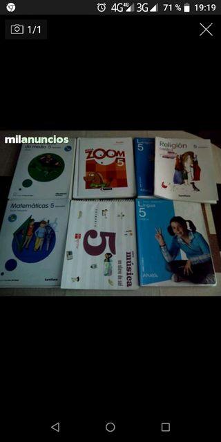 libros texto 5°primaria como nuevos