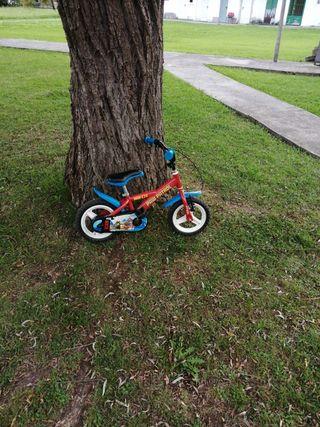 bicicleta patruya canina