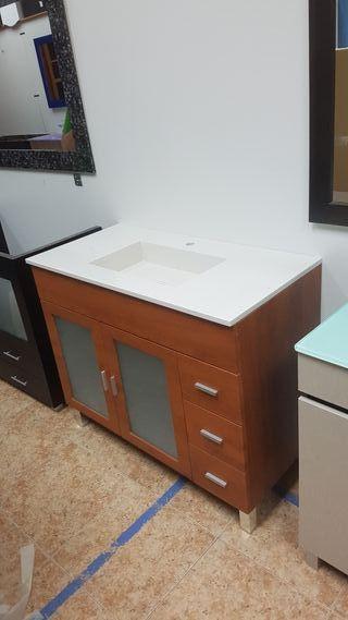 Mueble de baño 100x48 cm.