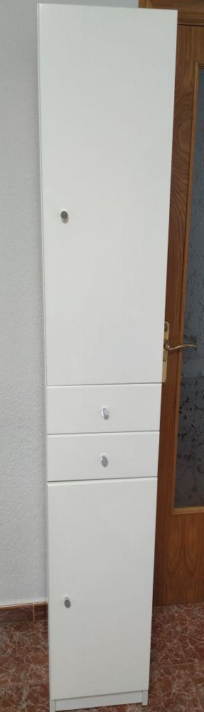 Armario mueble de lavabo 192x30x30 (mueble)