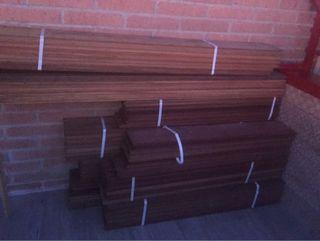 Lote revestimiento exterior madera ipé