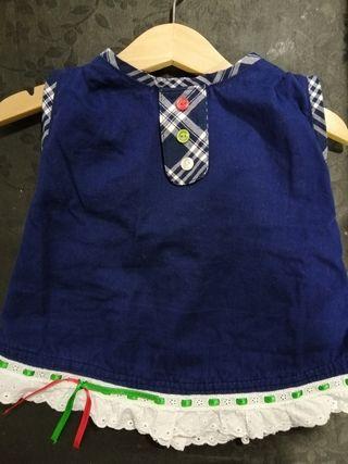 Vestido Arrantzal Bebé