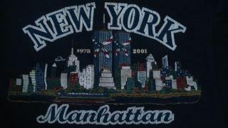 Camiseta conmemorativa de las Torres Gemelas