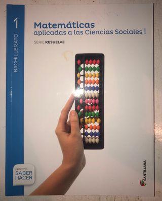 Libro 1ºBACH. Matemáticas
